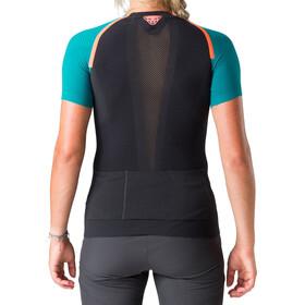 Dynafit Ultra S-Tech - T-shirt course à pied Femme - noir/Bleu pétrole